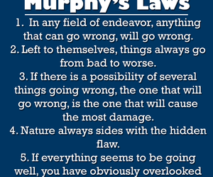 optimism, murphy, and murphy's law image