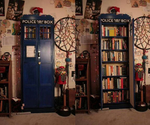 book, doctor who, and bookcase image