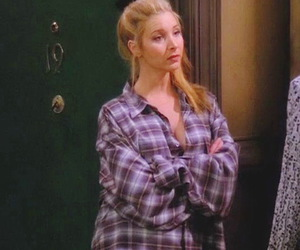 friends, phoebe, and Lisa Kudrow image