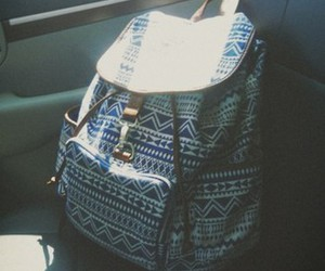 backpack, hipster, and indie image