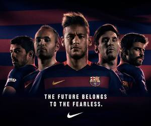 Barcelona, football, and fcbarcelona image
