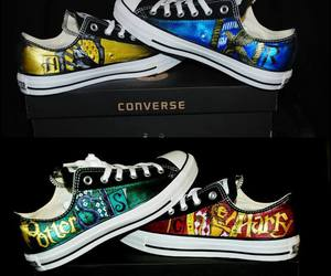 harry potter, converse, and ravenclaw image