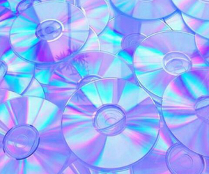 cd, purple, and grunge image