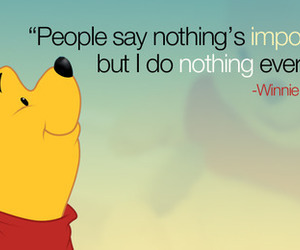 cartoon, quotes, and winnie the pooh image