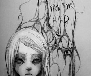 mind, sad, and escape image