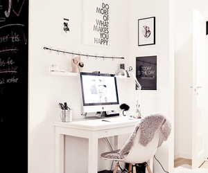 chair, imac, and macbook image