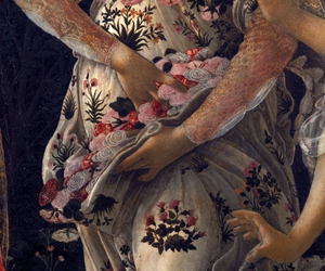 botticelli, flowers, and painting image
