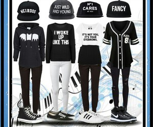 adidas, nikes, and Polyvore image