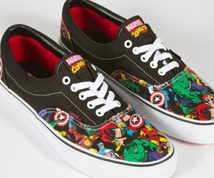 Marvel, vans, and swag image