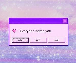 hate, cry, and grunge image
