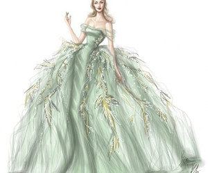 design, dress, and green image