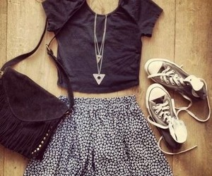 converse, fashion, and outfit image