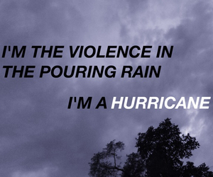 grunge, words, and hurricane image