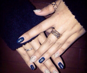 accessories, nail, and ring image