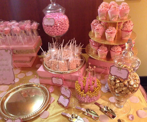 bubblegum, gold, and candy image