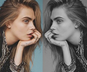 beauty, style, and cara delevigne image