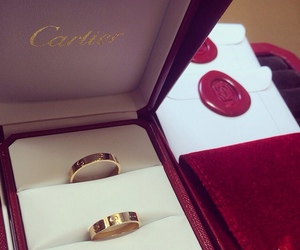 cartier, love, and jewelry image
