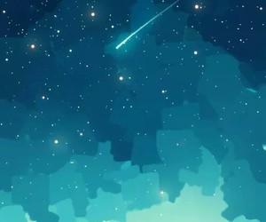 stars, anime, and girl image
