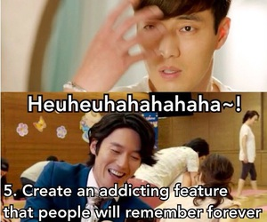funny, me, and kdrama image