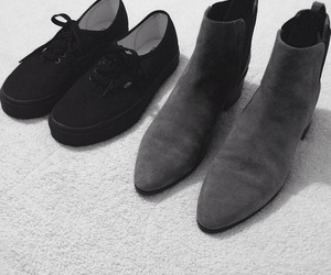 black, shoes, and my pic image