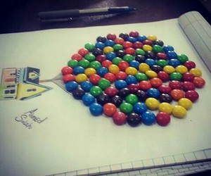 candy, up, and disney movies image