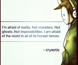 quote and cryaotic image