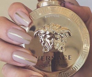nails, Versace, and luxury image