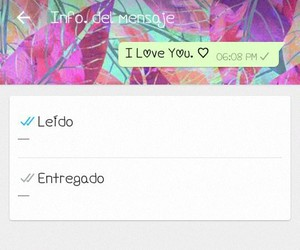 amor, I Love You, and message image