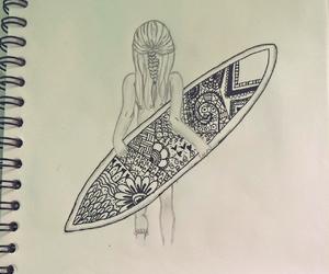 diy, drawing, and hawaii image