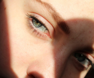 eyes, aesthetic, and pale image