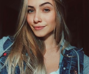 girl and blonde image