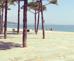 beach, natureza, and ocean image