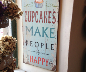 cupcakes, everywhere, and happy image