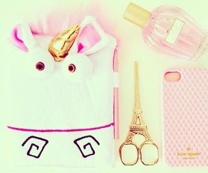 paris, pink, and unicorn image
