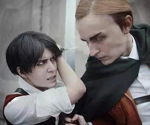 cosplay, levi, and snk image