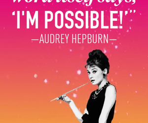 audrey hepburn, quote, and audrey image