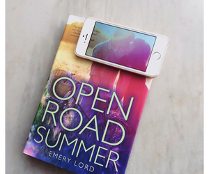 books, love reading, and open road summer image