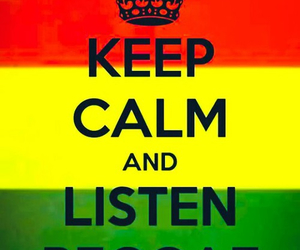 reggae and keep calm image