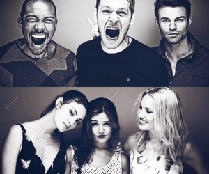 camille, marcel, and daniel gillies image