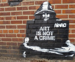 art, crime, and not image