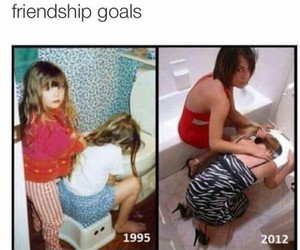 goals, friendship, and girl image