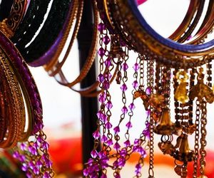 bangles, beautiful, and colours image