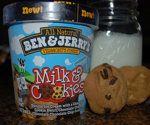 ice cream, Cookies, and food image