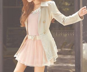 fashion, dress, and pink image