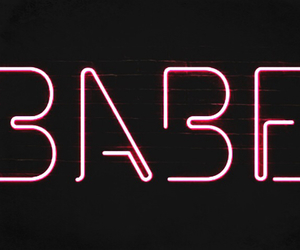 babe, neon, and sign image