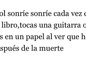 arbol, frases, and guitarra image
