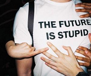 future, grunge, and stupid image