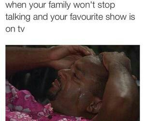 angry, tv, and favorite tv show image