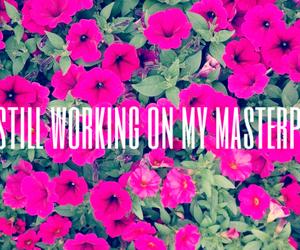 flower, Lyrics, and masterpiece image