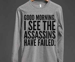funny, sweater, and t-shirt image